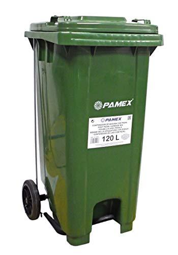 PAMEX - Contenedor Basura 120L con Pedal...