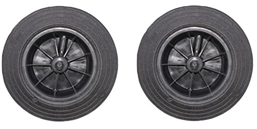 2 ruedas de repuesto para cubo de...