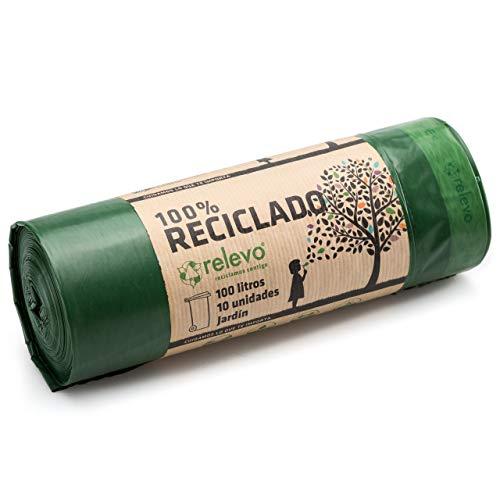 Relevo 100% Reciclado Bolsas de Basura,...