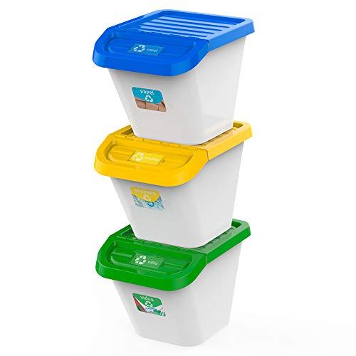 USE FAMILY Recycle. Cubos de Basura de...