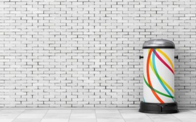 Cubos de basura con pedal
