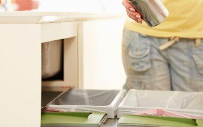 Cubos de basura cocina