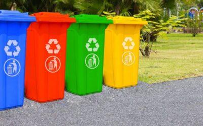 Cubos de basura grandes